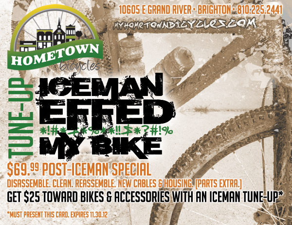 Hometown Bicycles Iceman Effed My Bike Tune-Up