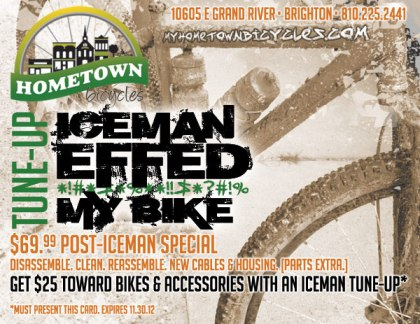 Hometown Bicycles Iceman Effed My Bike Tune-Up
