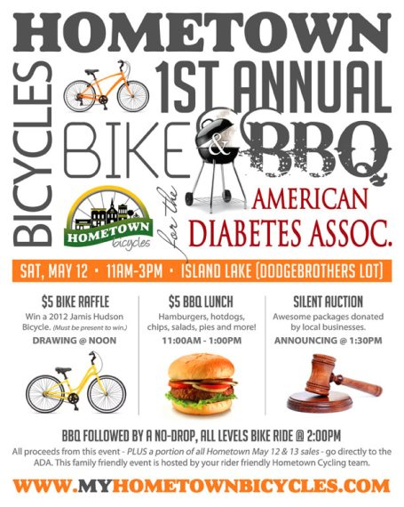Hometown Bicycle's 1st Annual Bike & BBQ for the ADA