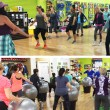 Zumba with Leslie Barrett and Cardio Drumming with Martha Soraruf