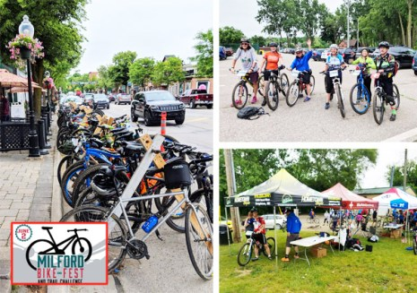 Hometown Bicycles was the major bike shop sponsor at the 2018 Milford Bike Fest and Trail Challenge in Milford, Michigan