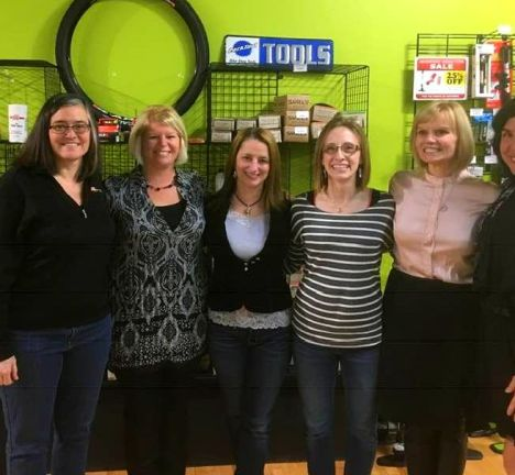Hometown Bicycles Women's Entrepreneurship Clinic and Forum with Dawn Bhajan and Leslie Barrett