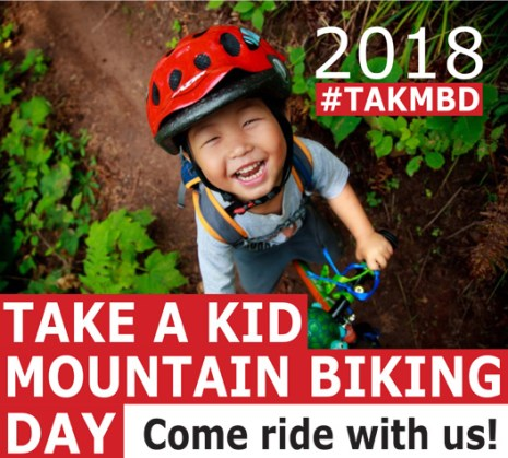 Take a Kid Mountain Biking Day - Come Ride with Us!
