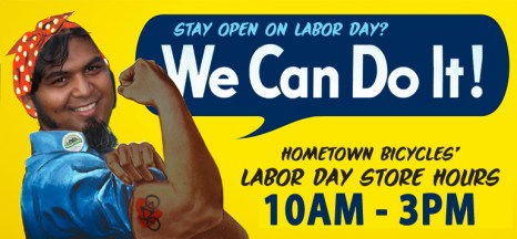 Hometown Bicycles Labor Day Hours