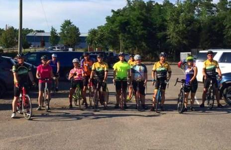 Hometown Bicycles Beginner Road Ride shop ride