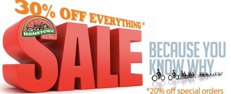 30% Off Everything Sale (Because You Know Why)