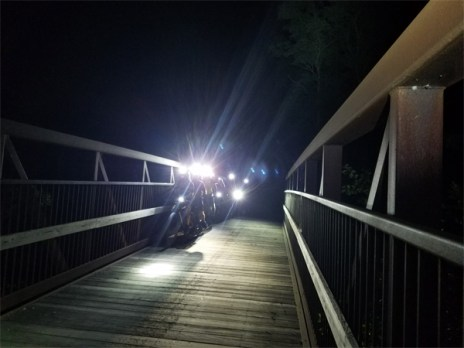 Hometown Bicycles shop ride, Friday Night Lights through Island Lake Recreation Area