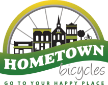 Hometown Bicycles of Brighton, Michigan logo