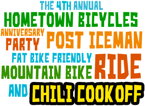 Hometown Bicycles Chili Cook-Off