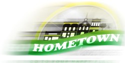 Hometown Bicycles logo in motion