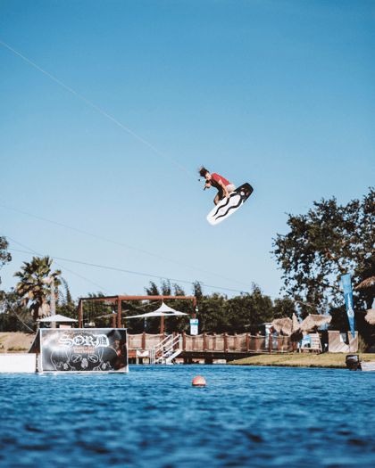 Kaesen Suyderhoud will be a major player in the inaugural California Wake Park Open Photo: Canevari