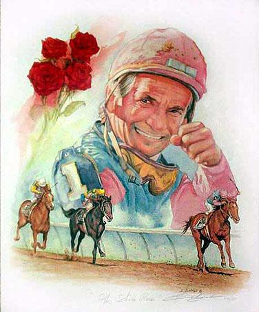 Willie Shoemaker, legendary jockey, 8-19-31 Leo - Sun, Venus and Jupiter in Leo!