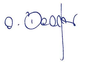 Unterschrift Antje Becker