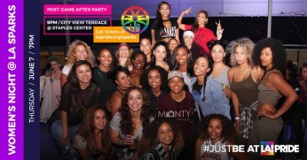 Women's Night at the LA Sparks –June 7, 2018 – LA Pride Week 2018