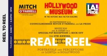 5th Annual Reel to Reel VIP Reception at the Hollywood Museum –June 7, 2018 –LA Pride Week 2018