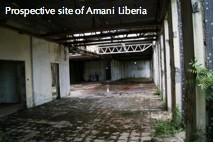 Prospective site of Amani Liberia