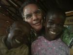Enjoying the kids in Nyeri