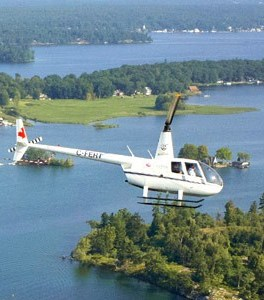 1000 Islands Gananogue Helicopter Tour