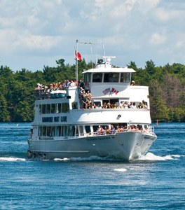 1000 Islands Gananogue Boat Line