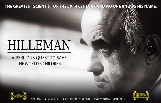 Hilleman Movie Screening: 4/25/17 @ 5:30 PM