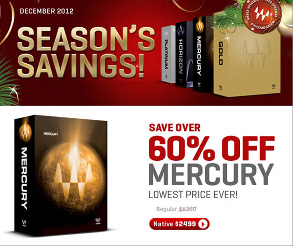 Waves Mercury Sale - Plugin Boutique