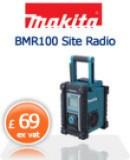 Makita BMR100 Site Radio  £69 ex vat