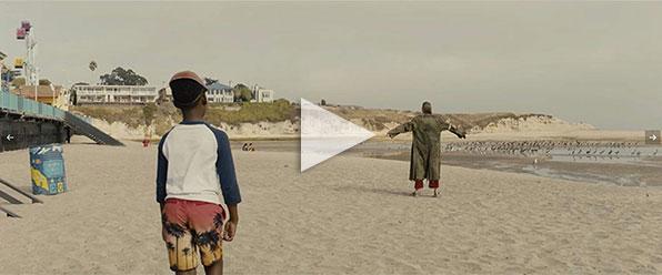 "Santa Cruz Beach in ""Us"""