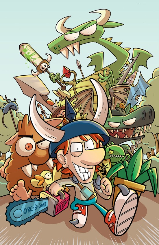 Munchkin #1 Cover A by Ian McGinty