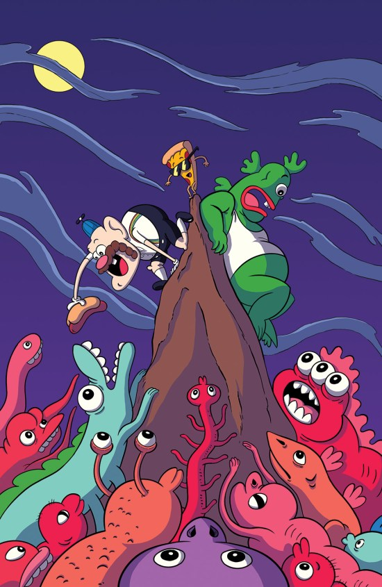 Uncle Grandpa #4 Cover B by Cory Fuller