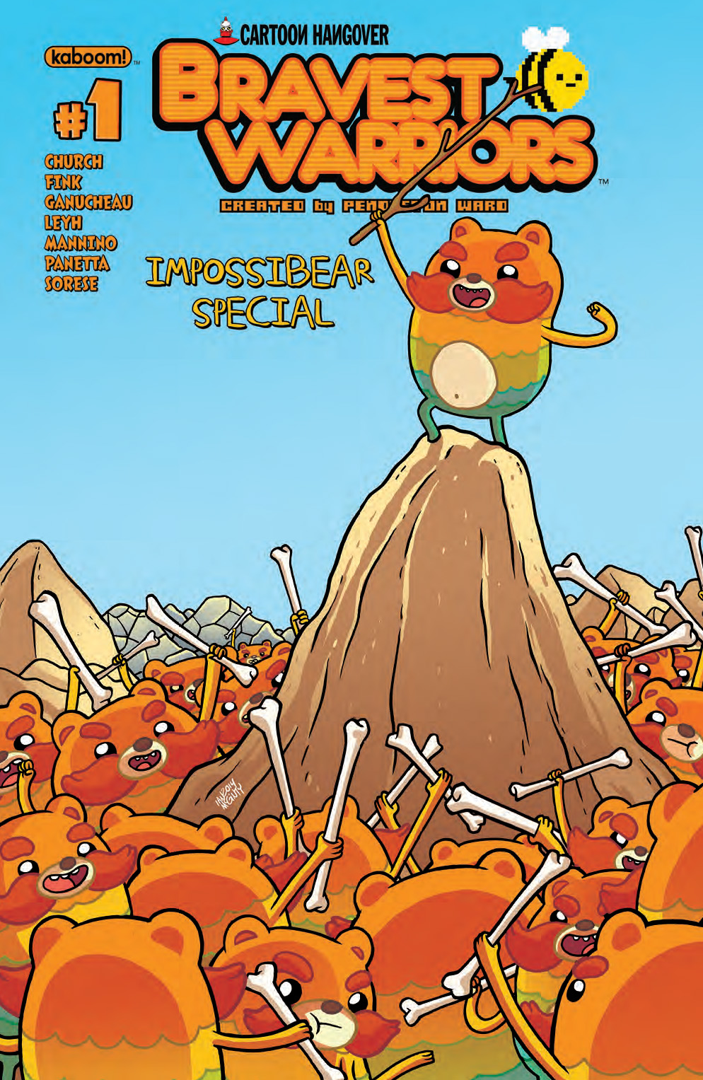 Bravest Warriors 2014 Impossibear Special Cover A