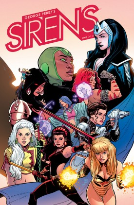 Sirens #1 Cover B