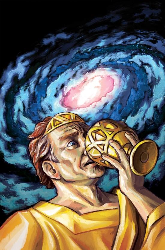 THE MIDAS FLESH #7 Cover B by David Hellman