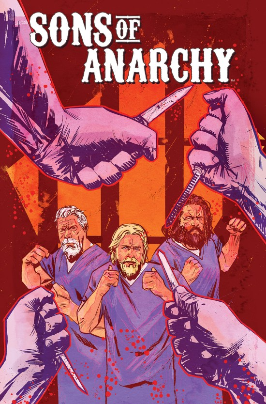 SONS OF ANARCHY #10 Cover by Garry Brown