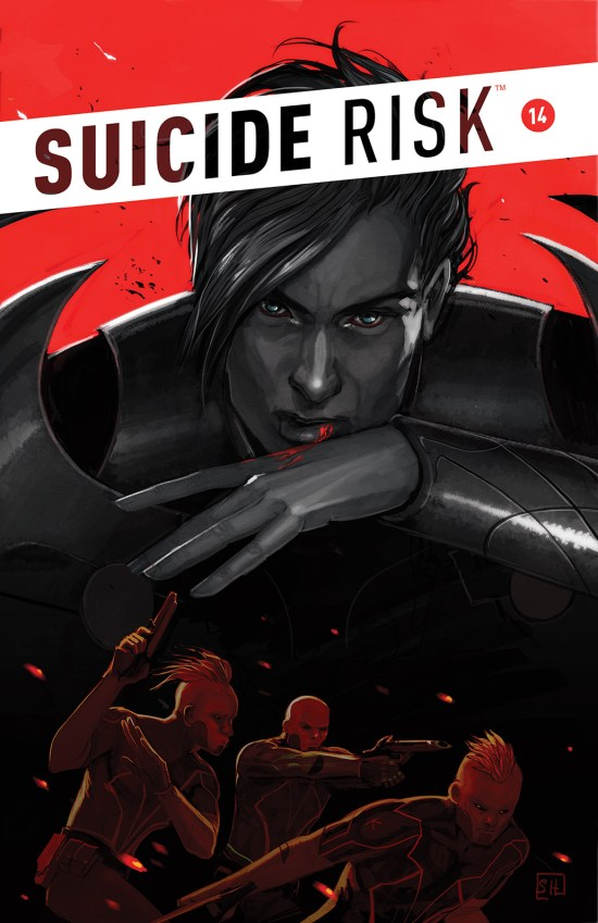SUICIDE RISK #14 Cover by Stephanie Hans