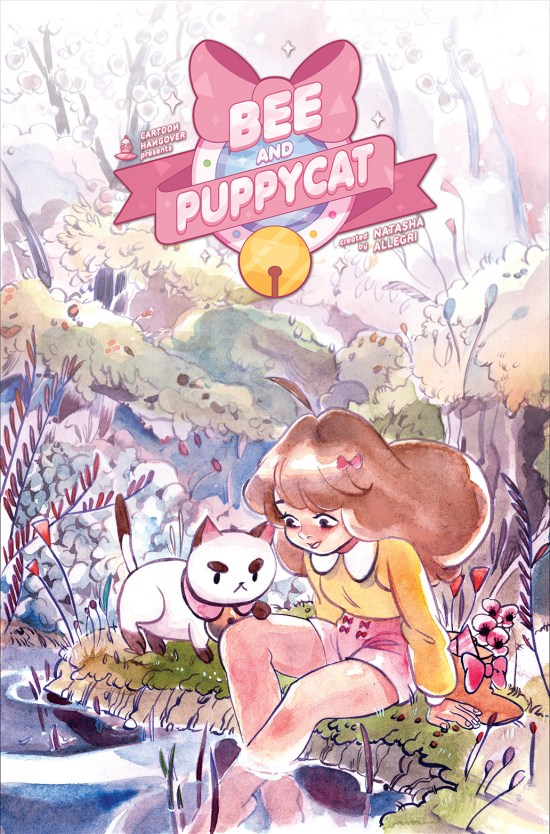 BEE AND PUPPYCAT #2 Cover A by Natasha Allegri