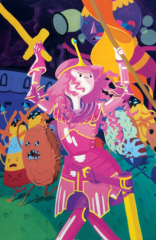 Adventure Time: Marceline Gone Adrift Cover D by Britt Wilson