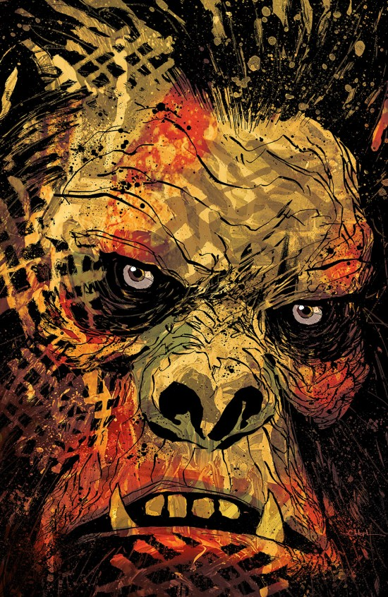 Dawn of the Planet of the Apes #3 Cover A by Christopher Mitten