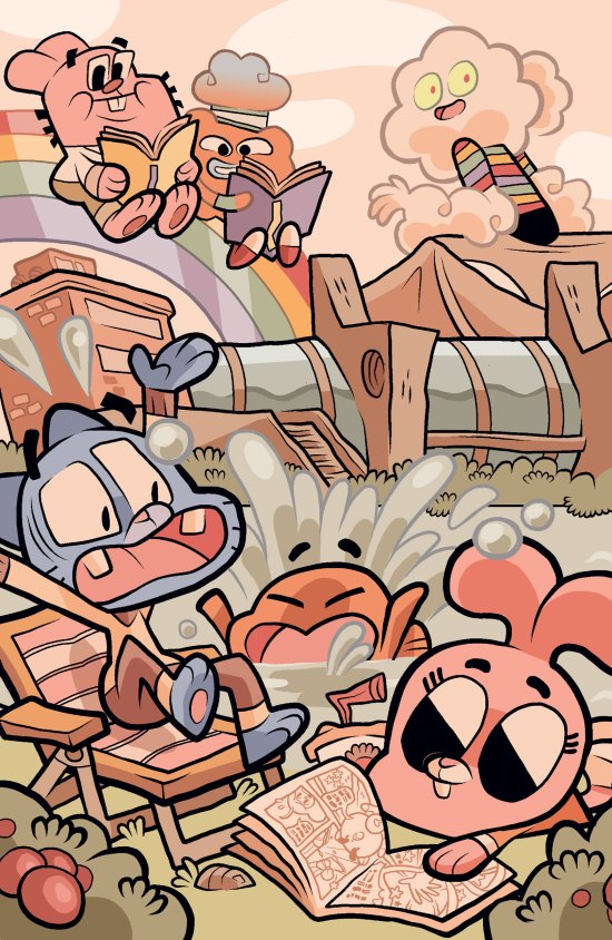 Amazing World of Gumball #1 SDCC