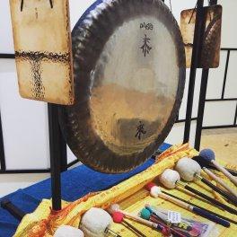 sound healing gong bath meditation