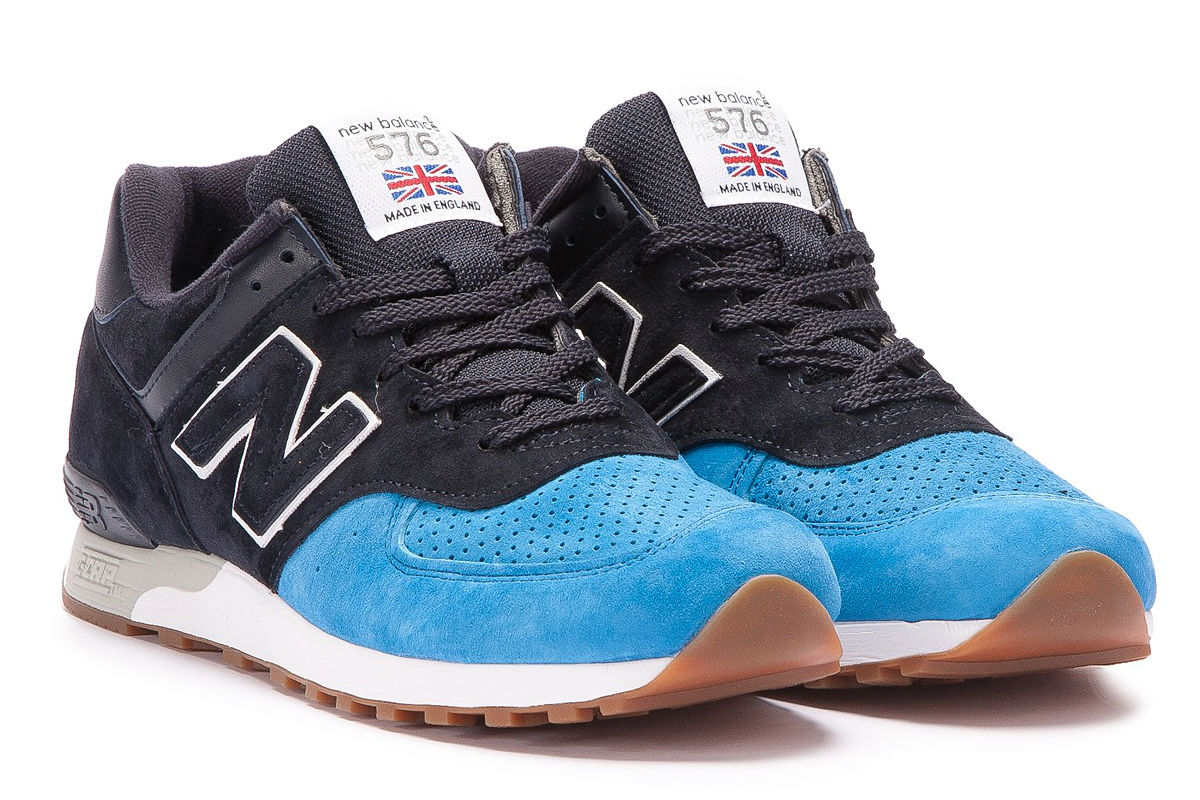 low priced a0e65 e0fce TAGS New Balance Featuring a premium suede and nubuck upper, and with black  and navy colors, ...