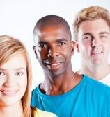 Three young entrepreneurs