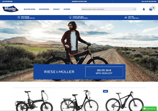 50cycles New Website