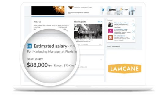 LinkedIn releases estimated salary for salary research