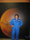 Alana Margeson, Maine's 2012 Teacher of the Year, spent a week in July engaging in hands-on learning at International Space Camp in Huntsville, Alabama.