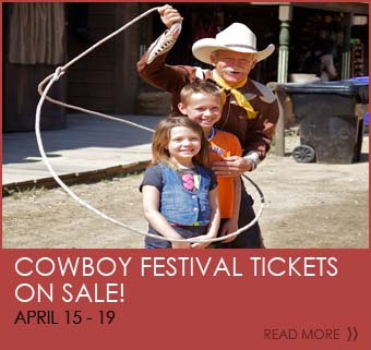 Cowboy Festival Tickets  ON SALE! April 16-19
