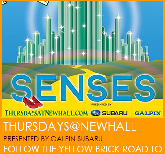 Thursdays@Newhall - Presented by Galpin Subaru.  Follow the Yellow Brick Road.