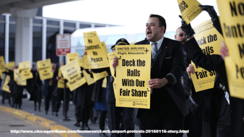 MLK Day Airport Protests