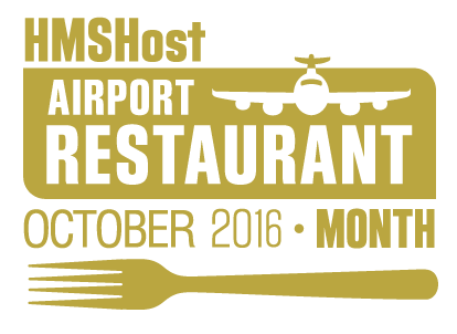 October is airport restaurant month