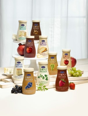simply dressed salad dressings marzetti