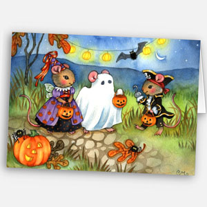 Trick or Treat Card (Photo)
